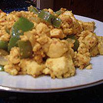 An Easy Vegan Tofu Breakfast Scramble Recipe: Vegetarian tofu scramble is a popular meat-free breakfast