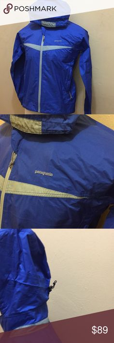 Patagonia Parka light jacket S Great condition. Feature a stow away zip pocket on the bottom rear of jacket. Vintage jacket size Small Patagonia Jackets & Coats
