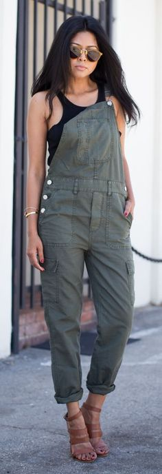Cargo Overalls by Walk In Wanderland