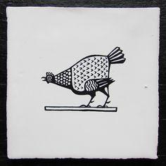 Cock Lane 1, tile by Paul Bommer