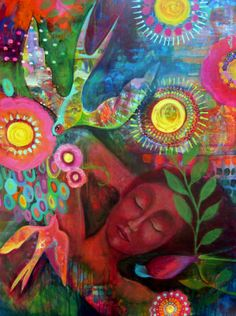 Gutsy Arts: Flora Bowley's Bloom True E-Course Review