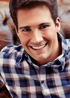 James extremely handsome as always.