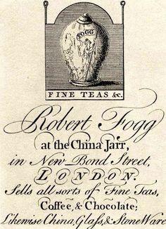 A Nation Of Tea-Drinkers | Spitalfields Life