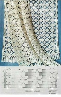 Crochet Lace Scarf, Crochet Cap, Crochet Diagram, Tapestry Crochet, Crochet Scarves, Crochet Stitches, Crochet Baby Blanket Sizes, Crochet Baby Hat Patterns, Baby Sweater Knitting Pattern