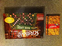 My find today at Chapters...Scrabble notebook and Scrabble Booklover's Edition!  HAD to get them!  :-)