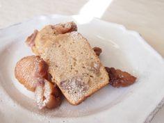 マロンのケイク cake aux marrons