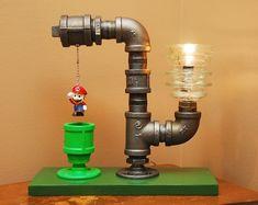 Industrial Mario Warp Pipe Lamp #IncredibleThings