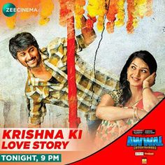 How far will Krishna go to save his love and the lives of the innocent children? Watch his battle in the film Krishna Ki Love Story tonight at 9 PM only on . Love Story Movie, Movie M, Man Look, Movies To Watch Hindi, Krishna, Innocent Child, Drama, Cinema