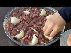 10 TL ye Koca Tepsi Nefis İftar Yemeği 😋👌🏻 Biz Ailece Bu Yemeği Çok Seviyoruz 😍😍😍 - YouTube Iftar, Food And Drink, Meat, Chicken, Beef, Cubs