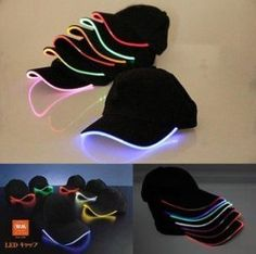 New Top Fantastic Glow LED Light up BaseBall Hat,Unisex Baseball Cap Hat with Headlamp,Mutil-color LED Night party flashing Caps Neon Birthday, 15th Birthday, Party Outfit Night Club, Sparkle Party, Glow Party, Kids Party Games, Sweet 16 Parties, Ideas Para Fiestas, Party Poster
