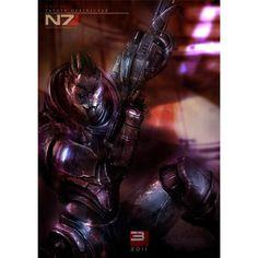 Mass Effect Poster On Silk <60cm x 85cm, 24inch x 34inch> - Seide Plakat - F04E22: Amazon.de: Küche & Haushalt