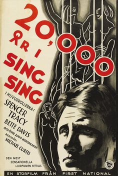 20,000 Years in Sing Sing (1932) Spencer Tracey + Bette Davis