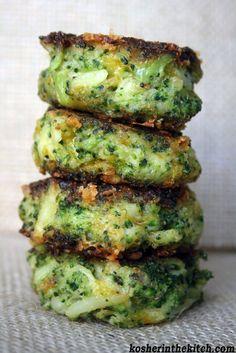Broccolicheddarlatkes - http://www.kosherinthekitch.com/broccoli-cheddar-latkes/