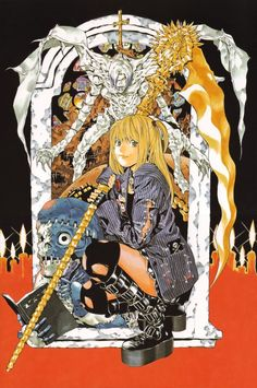 Death Note - Ryuk and Light Yagami by Takeshi Obata | デスノート - 小畑 健 *