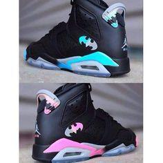 Batman Jordans, Batman Shoes, Air Jordans, Shoes Jordans, Black Jordans, Batman Ring, Jordans Girls, Jordan Shoes Girls, Air Jordan Shoes