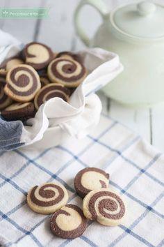 Galletas de espiral ¡originales y sabrosas!