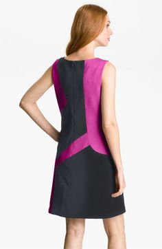 Suzi Chin for Maggy Boutique Colorblock Mod Shift Dress | Nordstrom