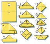 Risultati immagini per barchette di carta