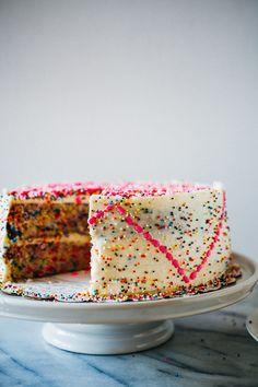 Funfetti Cake from @crepesofwrath