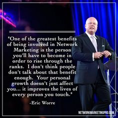 Eric Worre Quotes Unique I'm So Looking Forward To The Amazing Training Todaythank You