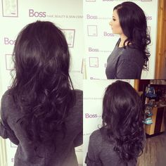 Hair by our Apprentice Isla this morning volume curls for a December wedding guest  Have a lovely time !!! Xx  #curls #ghd #ghdhair #ghdtong