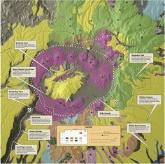 Jemez Volcanic Eruptions | ... ignimbrite resulted from explosive precursor to Banco Bonito eruption