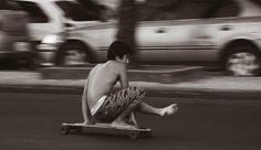 christy trick on longboard