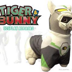 Tiger & Bunny Llama Plush Alpacas, Cosplay, Llama Plush, Tiger And Bunny, Wild Tiger, Viz Media, Fluffy Coat, Anime Merchandise, Cockatiel