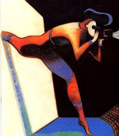 Mattotti : illustration for the festival of Cannes (2000)