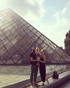 Backpacking with kids. The Louvre Paris, France