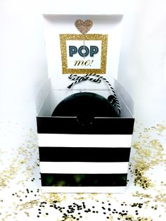 Kate Spade Balloon Pop Kit for Bridesmaid/Maid of Honor Proposal Gift by JaQueenThings on Etsy https://www.etsy.com/listing/263158126/kate-spade-balloon-pop-kit-for
