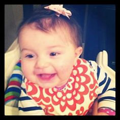 Myla always happy!