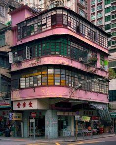 Hong Kong corner houses by Michael Wolf