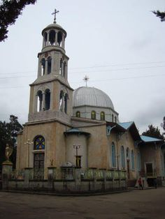 Kiddiste Mariam Church (Addis Ababa), #Ethiopia Ethiopia Addis Ababa, Ethiopia Travel, Addis Abeba, Human Fossils, Horn Of Africa, African Nations, Lion Of Judah, Church Building, Abyssinian