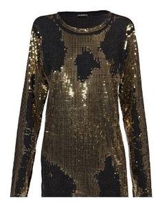 Best Pictures Ever, Sequin Shirt, Black Sequins, Discount Designer, Balmain, Fashion Brands, Tees, Shirts, Womens Fashion