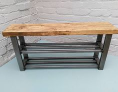 For the home Shoe rack bench double shelf shoe storage bench seat Decor, Furniture, Hallway Bench, Hallway Storage, Shoe Rack Bench, Diy Storage Bench, Plastic Furniture, Diy Shelves, Shoe Storage Shelf