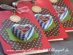 Individuelle Papeterie, Auftragsarbeit, Einladung Oktoberfest, Stampin´UP!, Sandra Kolb www.samey.de www.samey-atelierfarbstil.blogspot.de