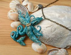 Sea dragon necklace by RegnumLaternis on DeviantArt