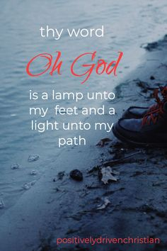 inspiration scripture quote - thy Word is truly and lamp unto my feet and a light unto my path Positive Bible Verses, Inspirational Scripture Quotes, Powerful Bible Verses, Encouraging Verses, Bible Verses About Love, Verses About Strength, Bible Studies For Beginners, Audio Bible, Thy Word