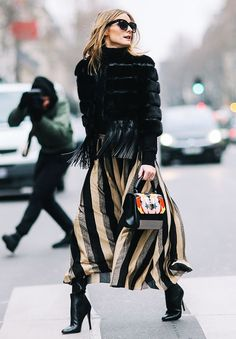 Olivia Palermo's Style Outfit by Outfit - How to Look Chicer Every Day, According to Olivia Palermo Style Olivia Palermo, Olivia Palermo Lookbook, Olivia Palermo Outfit, Look Street Style, Street Chic, Fall Street Styles, Fashion Weeks, Street Style Inspiration, Classy Winter Outfits