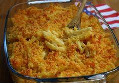 Mac & cheese (Gratin de macaroni au cheddar)