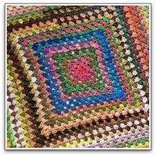 crochet granny blanket - Google Search