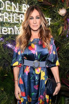 Sarah Jessica Parker attends the L'Eden By Perrier-Jouet opening night in partnership with Vanity Fair.