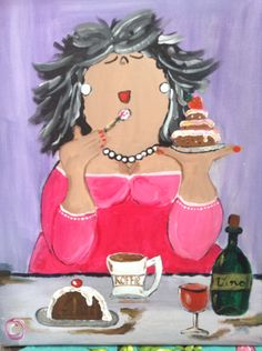 Delicious Delicious The post Delicious appeared first on Ruby Sanders. Acrylic Painting For Beginners, Acrylic Painting Tutorials, Watercolour Tutorials, Shadow Painting, Pallet Painting, Painting & Drawing, Illustrations, Illustration Art, Funny Paintings