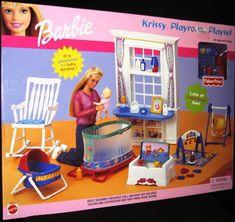 Barbie Krissy Playroom Playset 2002 New | eBay
