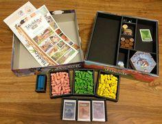 Takenoko foam core insert Board Game Organization, Board Games, Core, Gaming, Play, Videogames, Game, Toys, Games