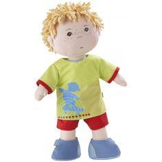 Lappenpop Michel, de perfecte jongenspop. Lees de review op www.benjaminbengel.com #speelgoed #haba #benjaminbengel