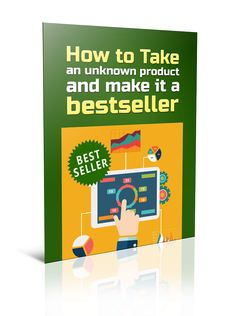 How To Make Your Product A Best Seller PLR Report - http://www.buyqualityplr.com/plr-store/make-product-best-seller-plr-report/.  #plrreport #privatelabelrights #bestsellingproduct #topseller #productsales #increasesales #moresales #bestseller How To Make Your Product A Best Seller PLR Report  How to take an unknown product and make it a bestseller!  If you want to make big sales online you need to have at least one best....