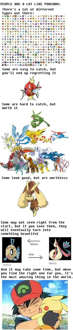 I still haven't gotten a special bond with a pokemon...