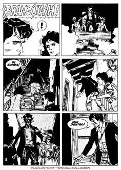 Pagina 56 - L'alba dei morti viventi - lo speciale #Halloween de #iSarcastici4. #LuccaCG15 #DylanDog #fumetti #comics #bonelli